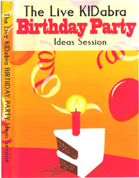 Birthday Party Magic DVD Set – The Live KIDabra Birthday Party Session 2 Volumes Set