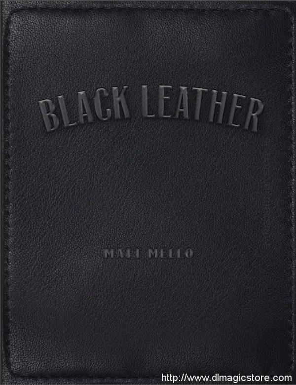 Black Leather By Matt Mello