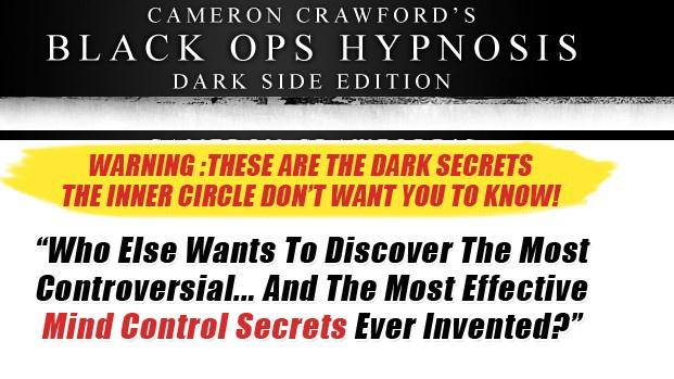 Black Ops Hypnosis 2.0 Dark Side Edition by Cameron Crawford
