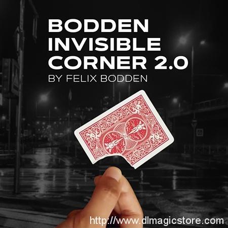 Bodden Invisible Corner 2.0 by Felix Bodden