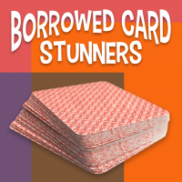 Borrowed Card Stunners by Larry Hass (Instant Download)