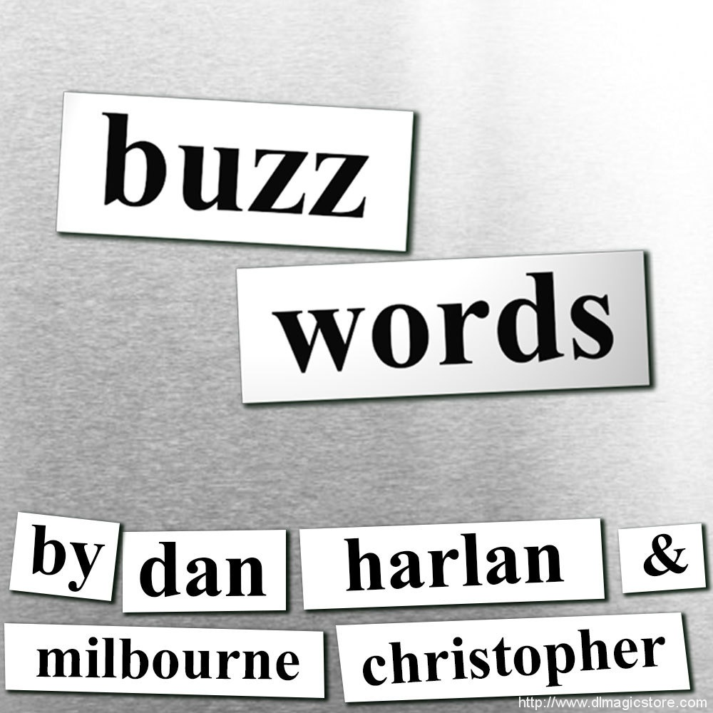 Buzzwords by Dan Harlan & Milbourne Christopher (Instant Download)