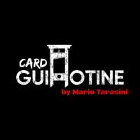 Card Guillotine by Mario Tarasini