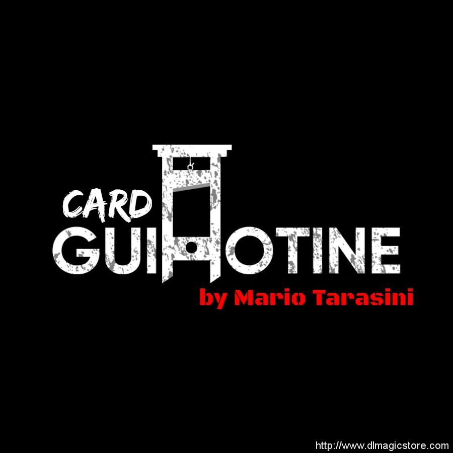 Card Guillotine by Mario Tarasini