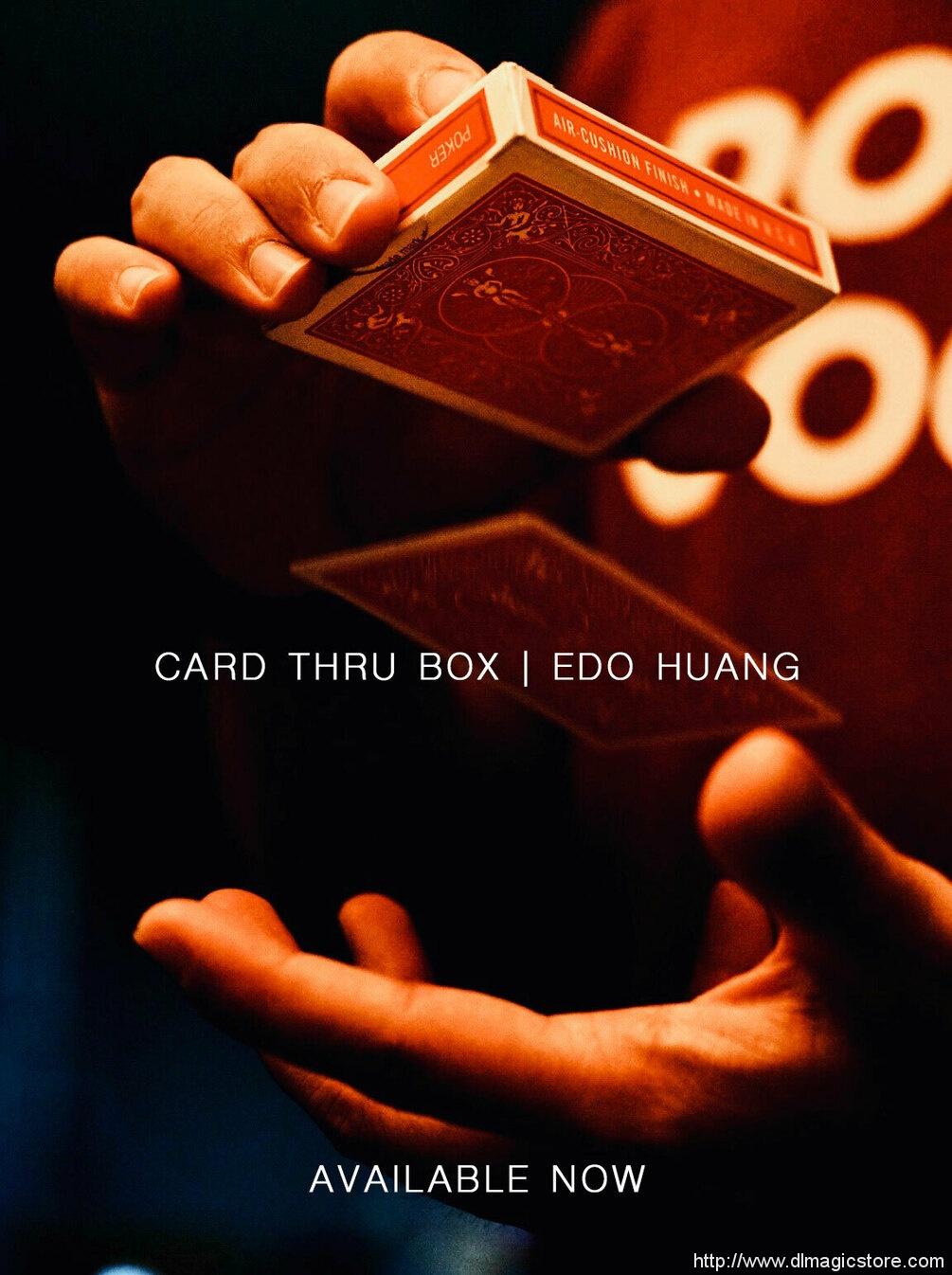 Card Thru Box by Edo Huang