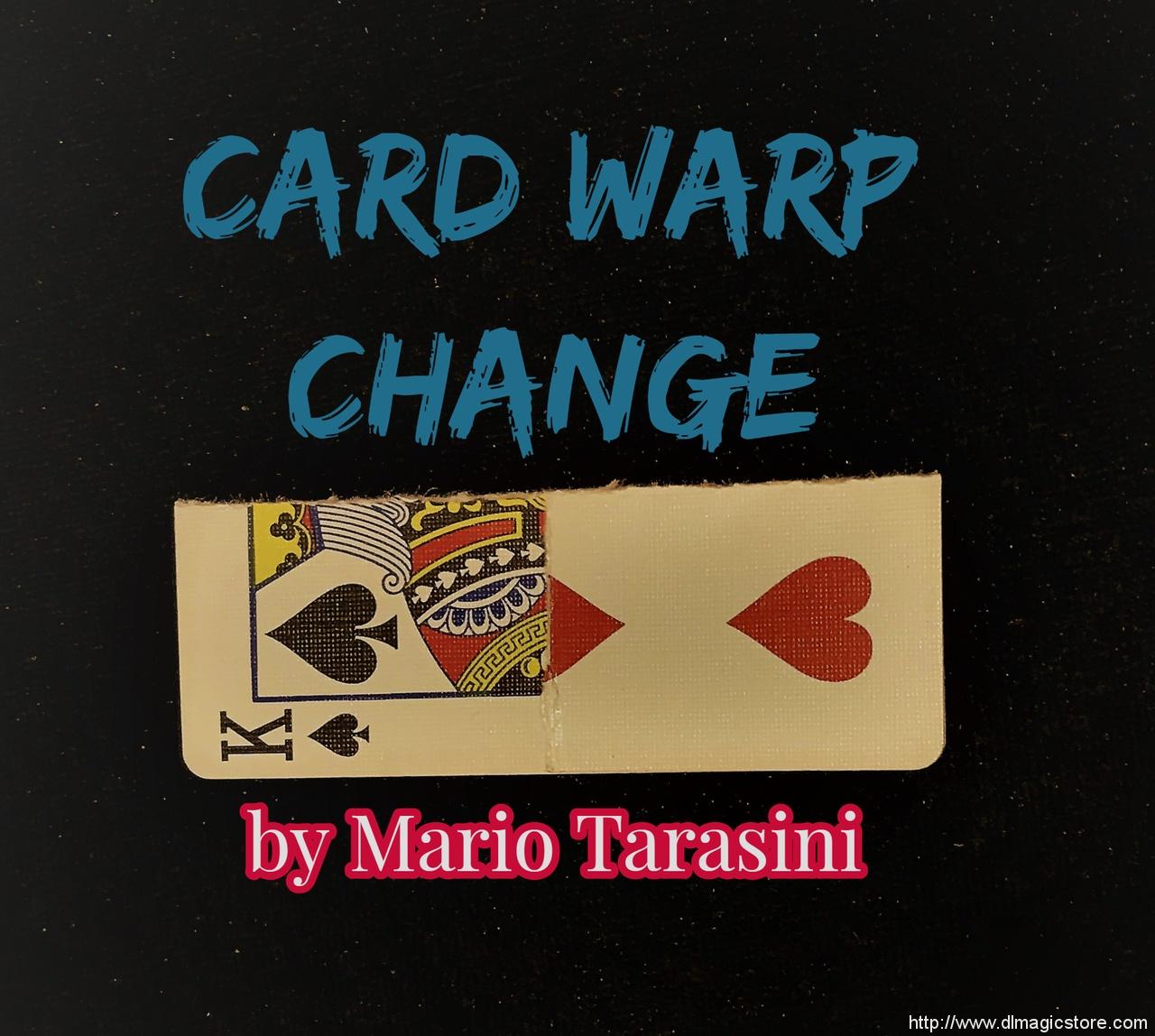 Card Warp Change by Mario Tarasini