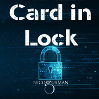 Card in Lock by Nicolas Guga (Instant Download)