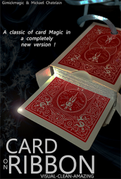 Card on Ribbon by Mickael Chatelain