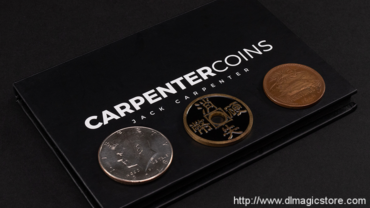 Carpenter Coins by Jack Carpenter (Gimmicks Not Included)