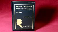Castle Notebooks Vol 1 by Bruce Cervon