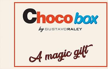 Choco Box by Gustavo Raley (Gimmick Not Included)