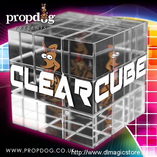 Clear Cube by PropDog (Gimmick Not Included)