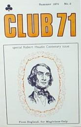 Club 71 Magic Magazine