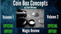 Coin Box Concepts Vol. 1 & 2 by J. Burk Whittaker