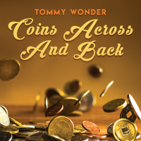 Coins Across and Back de Tommy Wonder presentado por Dan Harlan (Descarga instantánea)