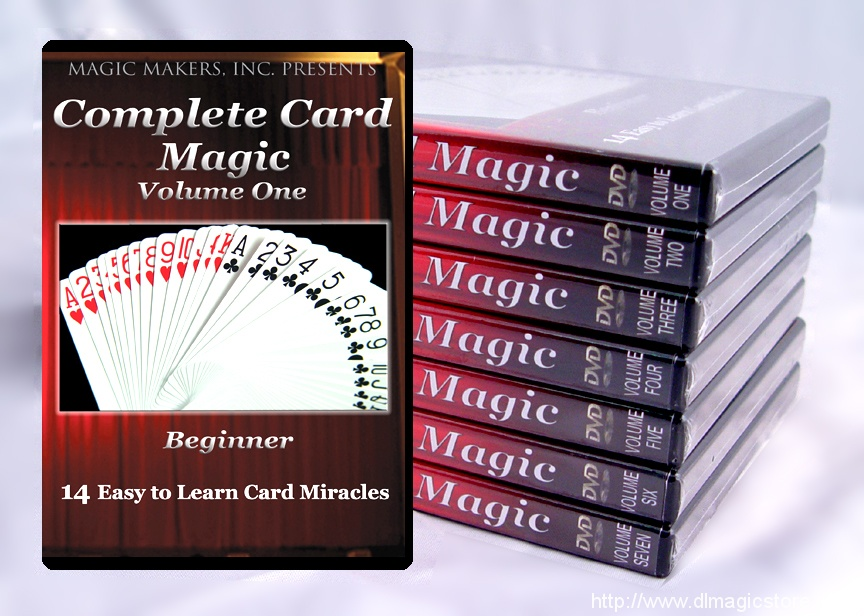 Complete Card Magic with Gerry Griffin – The Definitive Set (Volumes 1-7)