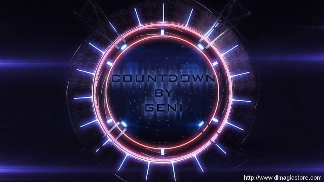 Countdown by Geni (Instant Download)