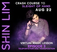 Crash Course Ep 3 Teleportation & Transposition by Shin Lim