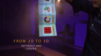 Rubik's Cube 3D Advertising by Henry Evans and Martin Braessas (Gimmicks Not Included)