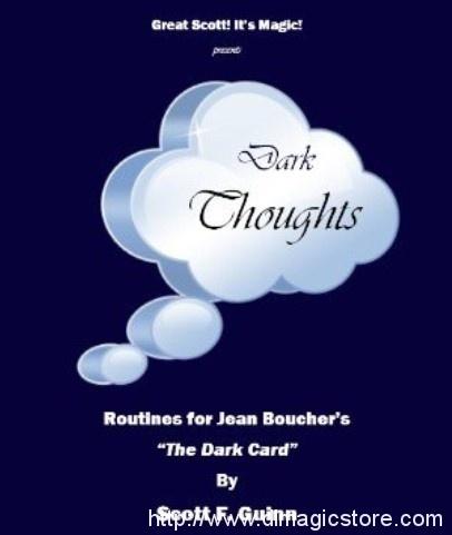 Dark Thoughts By Scott F. Guinn