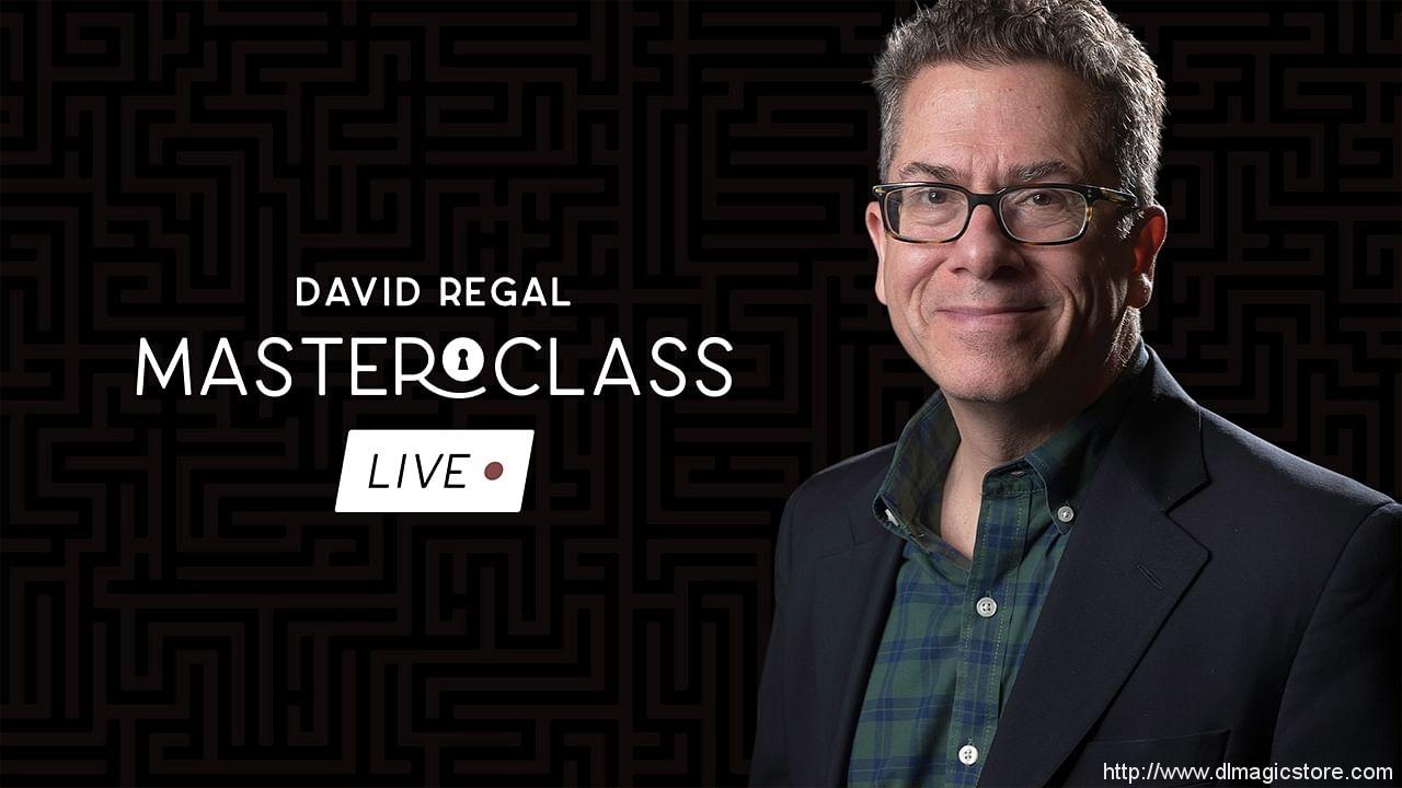 David Regal – Masterclass Live – Week 1
