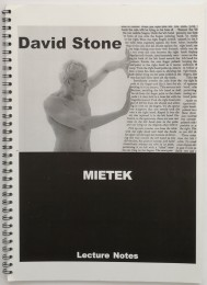 David Stone – Mietek – Lecture Notes
