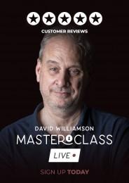 David Williamson Vanishing Inc Masterclass: Live Week 1