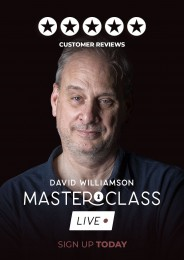 David Williamson Vanishing Inc Masterclass: Live Week 1-4