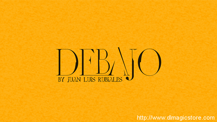 Debajo by Juan Luis Rubiales (Instruction Video Only)