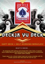 DeckJa Vu Deck by John Carey (Gimmick not included)