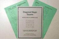 Diagonal Magic Square by Chuck Hickok