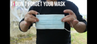 Don´t forget your mask by Patricio Teran (Instant Download)