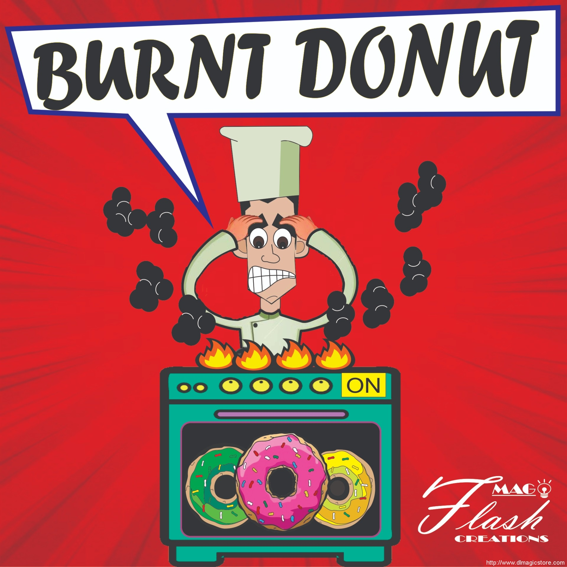 Donuts Burnt by Mago Flash Argentina