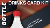 Drink Card KIT for Astonishing Bottle Accessory by Joao Miranda
