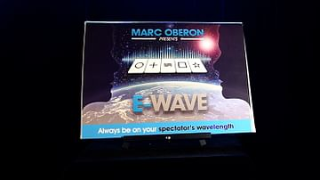 E-Wave by Marc Oberon (Gimmick Not Included)