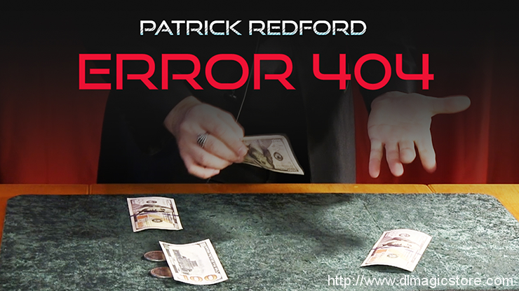 ERROR 404 by Patrick Redford