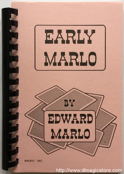 Early Marlo by Edward Marlo