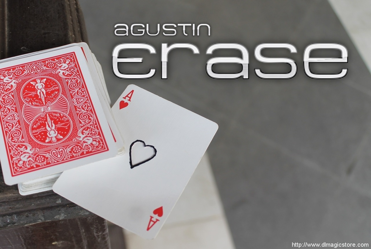 Erase by Agustin (Instant Download)