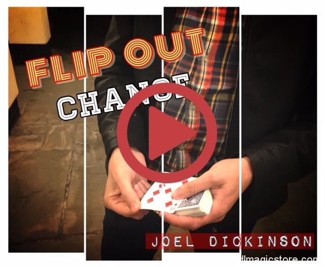 Flip Out Change By Joel Dickinson