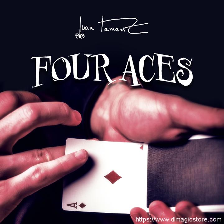 Four Aces by Juan Tamariz presented by Dan Harlan (Instant Download)