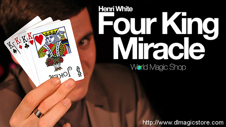 Four King Miracle Henry White (Gimmick Not Included)