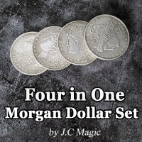 Four in One Morgan Dollar Set by J.C Magic