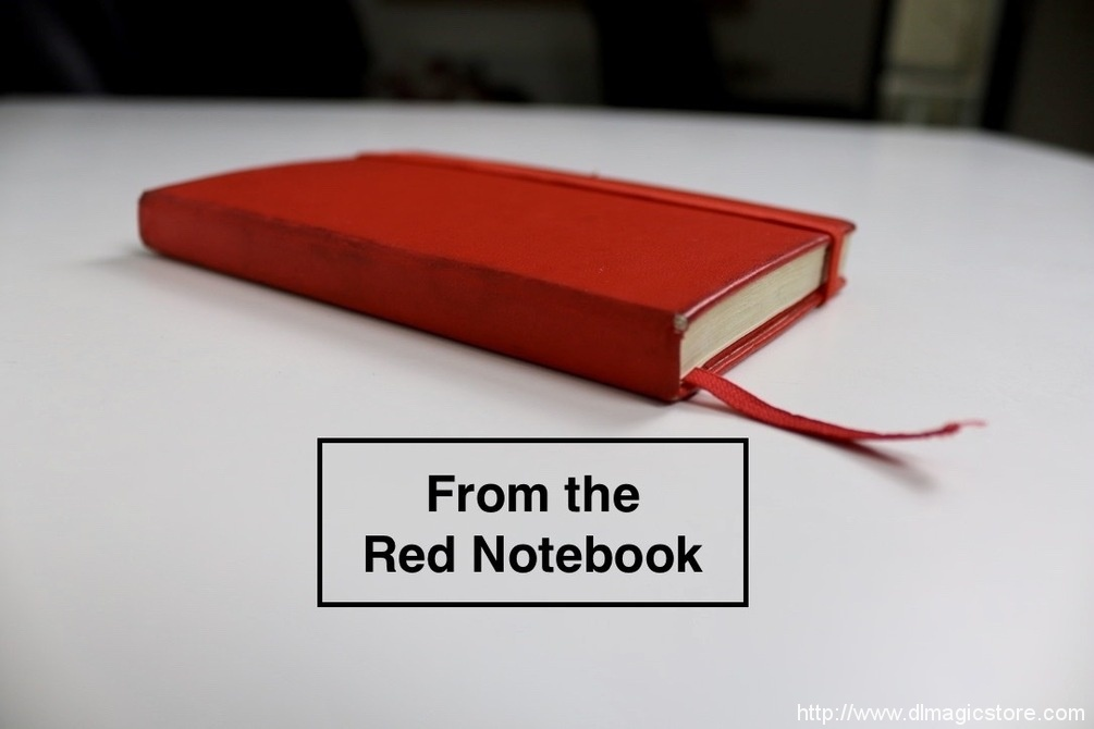 From the Red Notebook (Second Edition) by Tom Rose