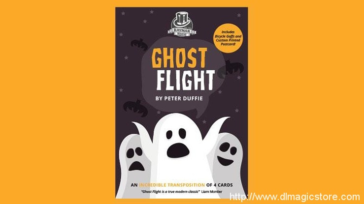 Ghost Flight (Online Instructions) by Peter Duffie and Kaymar Magic