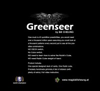Greenseer by Bill Cheung