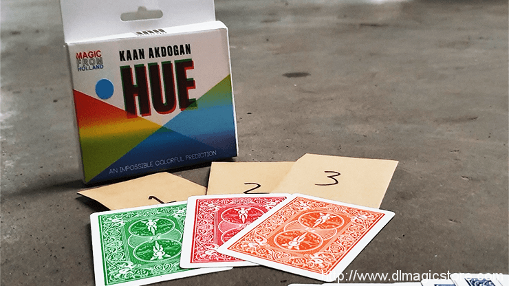 HUE by Kaan Akdogan and MagicfromHolland (Gimmick Not Included)