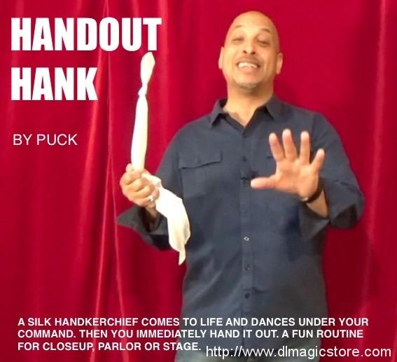 Handout Hank by Puck (Instant Download)