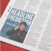 Headline Prediction by Banachek (Instant Download)
