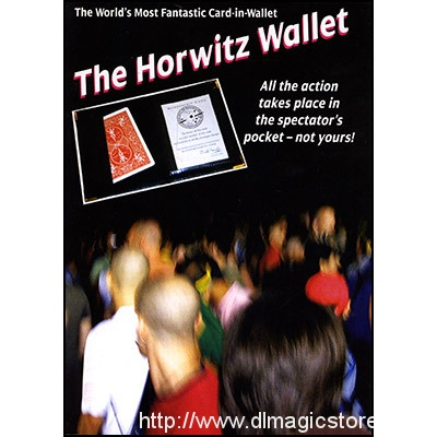 Horwitz Wallet by Basil Horwitz (Instructional Video Only)