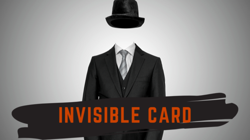 Invisible Card by Adam Wilber